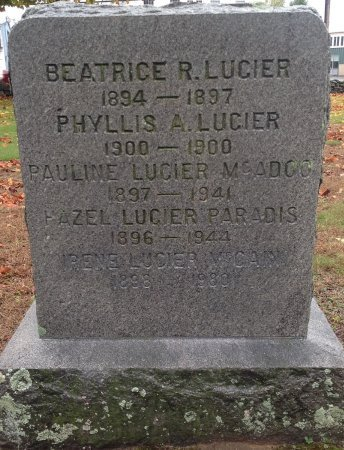 MCADOO, PAULINE E. - Hillsborough County, New Hampshire | PAULINE E. MCADOO - New Hampshire Gravestone Photos