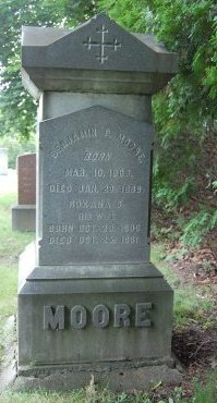 MOORE, BENJAMIN PETTENGILL - Hillsborough County, New Hampshire   BENJAMIN PETTENGILL MOORE - New Hampshire Gravestone Photos