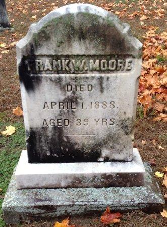 MOORE, FRANK W. - Hillsborough County, New Hampshire | FRANK W. MOORE - New Hampshire Gravestone Photos