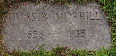 MORRILL, CHARLES W. - Hillsborough County, New Hampshire   CHARLES W. MORRILL - New Hampshire Gravestone Photos