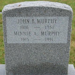 MURPHY, MINNIE A - Hillsborough County, New Hampshire | MINNIE A MURPHY - New Hampshire Gravestone Photos