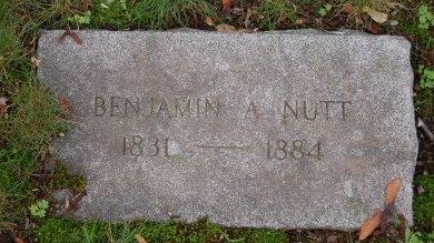NUTT, BENJAMIN A - Hillsborough County, New Hampshire | BENJAMIN A NUTT - New Hampshire Gravestone Photos
