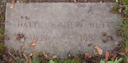 """NUTT, HARRIET L. """"HATTIE"""" - Hillsborough County, New Hampshire   HARRIET L. """"HATTIE"""" NUTT - New Hampshire Gravestone Photos"""