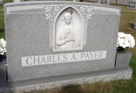 PAYER (FRONT), CHARLES A. - Hillsborough County, New Hampshire | CHARLES A. PAYER (FRONT) - New Hampshire Gravestone Photos