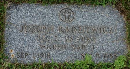 RADZIEWICZ   VET, JOSEPH - Hillsborough County, New Hampshire | JOSEPH RADZIEWICZ   VET - New Hampshire Gravestone Photos