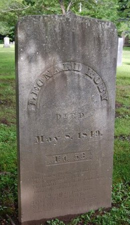 ROBY, LEONARD - Hillsborough County, New Hampshire | LEONARD ROBY - New Hampshire Gravestone Photos