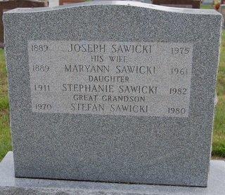 SAWICKI, STEFAN (FAMILY STONE) - Hillsborough County, New Hampshire | STEFAN (FAMILY STONE) SAWICKI - New Hampshire Gravestone Photos