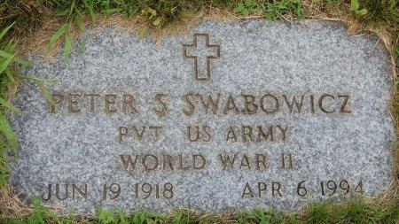 SWABOWICZ (VETERAN WWII), PETER S. (NEW) - Hillsborough County, New Hampshire   PETER S. (NEW) SWABOWICZ (VETERAN WWII) - New Hampshire Gravestone Photos