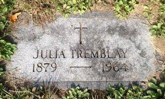TREMBLAY, JULIA - Hillsborough County, New Hampshire | JULIA TREMBLAY - New Hampshire Gravestone Photos
