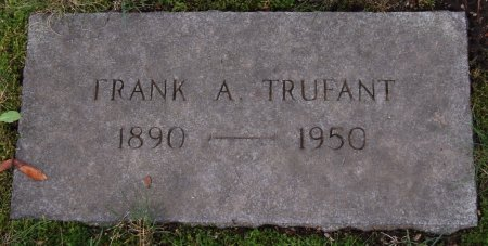 TRUFANT, FRANK ALBERT - Hillsborough County, New Hampshire   FRANK ALBERT TRUFANT - New Hampshire Gravestone Photos