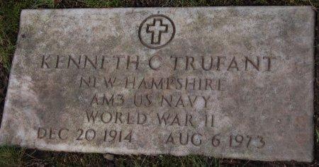 TRUFANT, KENNETH C. - Hillsborough County, New Hampshire | KENNETH C. TRUFANT - New Hampshire Gravestone Photos