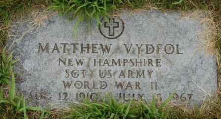 VYDFOL (VETERAN WWII), MATTHEW (NEW) - Hillsborough County, New Hampshire   MATTHEW (NEW) VYDFOL (VETERAN WWII) - New Hampshire Gravestone Photos