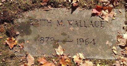 WALLACE, EDITH M. - Hillsborough County, New Hampshire | EDITH M. WALLACE - New Hampshire Gravestone Photos