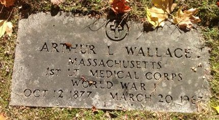 WALLACE, ARTHUR L. - Hillsborough County, New Hampshire | ARTHUR L. WALLACE - New Hampshire Gravestone Photos