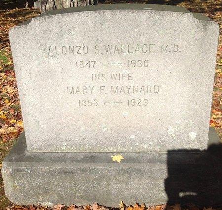 WALLACE, MARY FRANCES - Hillsborough County, New Hampshire | MARY FRANCES WALLACE - New Hampshire Gravestone Photos