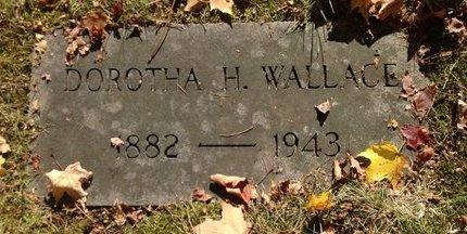 WALLACE, DOROTHA H. - Hillsborough County, New Hampshire   DOROTHA H. WALLACE - New Hampshire Gravestone Photos