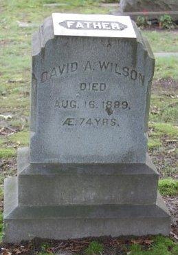 WILSON, DAVID A. - Hillsborough County, New Hampshire   DAVID A. WILSON - New Hampshire Gravestone Photos