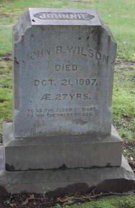 WILSON, JOHN B. - Hillsborough County, New Hampshire   JOHN B. WILSON - New Hampshire Gravestone Photos