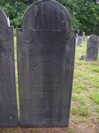 CAMPBELL, ELIZABETH - Rockingham County, New Hampshire | ELIZABETH CAMPBELL - New Hampshire Gravestone Photos