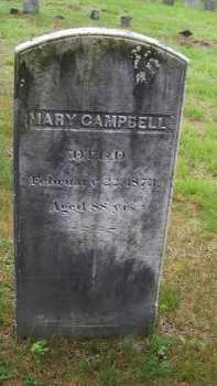 CAMPBELL, MARY - Rockingham County, New Hampshire | MARY CAMPBELL - New Hampshire Gravestone Photos