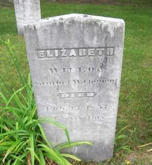 CLEMENT, ELIZABETH - Rockingham County, New Hampshire | ELIZABETH CLEMENT - New Hampshire Gravestone Photos
