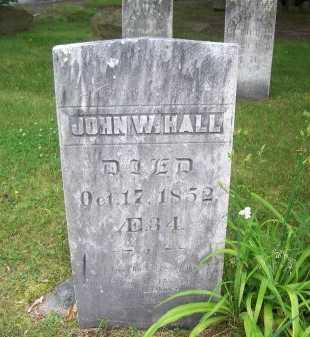 HALL, JOHN W. - Rockingham County, New Hampshire | JOHN W. HALL - New Hampshire Gravestone Photos