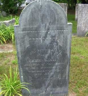 HALL, REBECKAH - Rockingham County, New Hampshire | REBECKAH HALL - New Hampshire Gravestone Photos