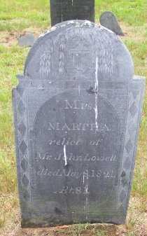 LOWELL, MARTHA - Rockingham County, New Hampshire | MARTHA LOWELL - New Hampshire Gravestone Photos