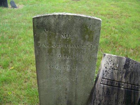 ROWELL, JACOB - Rockingham County, New Hampshire   JACOB ROWELL - New Hampshire Gravestone Photos