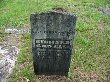 ROWELL, RICHARD - Rockingham County, New Hampshire | RICHARD ROWELL - New Hampshire Gravestone Photos