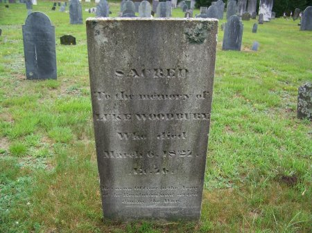 WOODBURY, LUKE - Rockingham County, New Hampshire | LUKE WOODBURY - New Hampshire Gravestone Photos